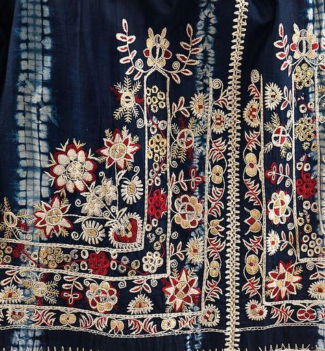 Folk Embroidery Patterns Apron Date: fourth quarter century Culture: Czech Medium: cotton, silk, wool -