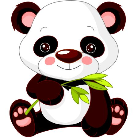 What can be sweeter than a darling Panda Bear?