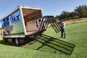The Mr 750 Bolt On Loading Ramp For Box Trucks Loading Ramps Trucks Truck Ramps