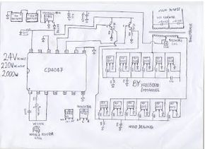 How To Build A 2kva Inverter Circuit Diagram Circuit Diagram Electrical Circuit Diagram Diagram
