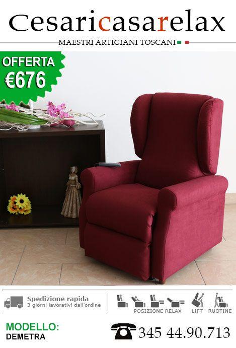 Fabbrica Poltrone Relax.Poltrone Relax Demetra Brand Cesari Casa Relax