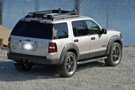 Image Result For Ford Escape Fender Flares Ford Explorer Lifted