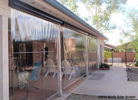 Clear Vinyl Plastic Enclosures Patio Enclosures Outdoor