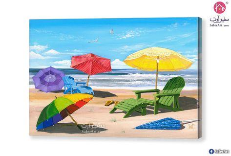 شاطئ البحر سفير ارت للديكور Painting Art