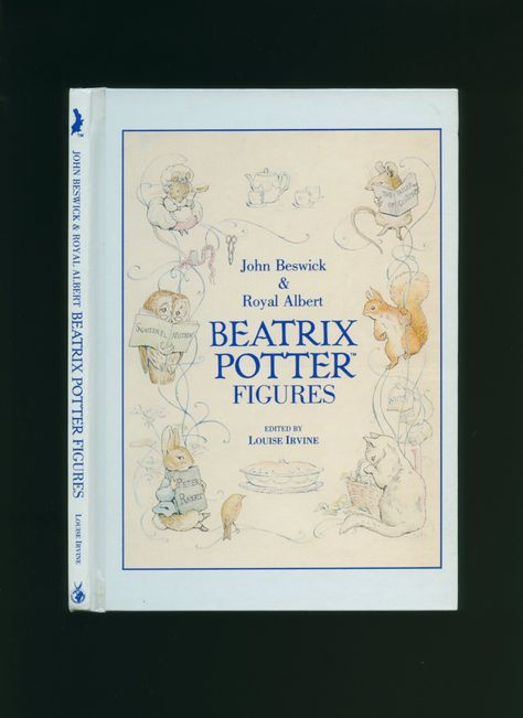 Acerca das figuras de porcelana Beswick das personagens de #Beatrix #Potter
