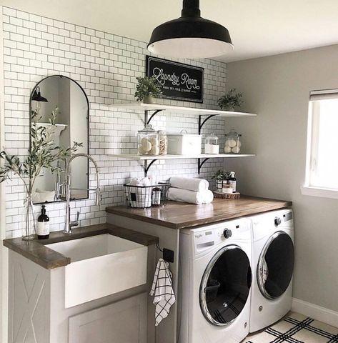 Ein Traum Waschküche Makeover - Decor stiehlt Blog