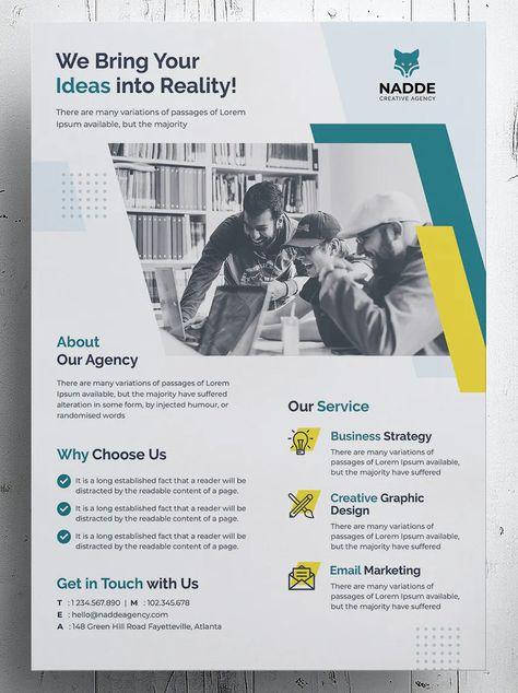 Business Corporate Flyer Template PSD