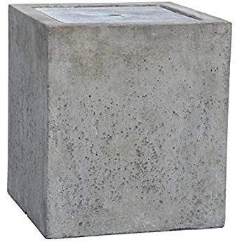 Dehner Gartenbrunnen Cube Mit Led Beleuchtung Ca 45 X 40 X 40 Cm