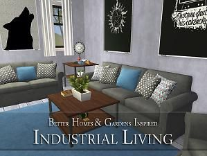 Mod The Sims   BHG Industrial Living Part 39