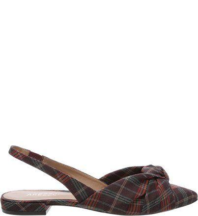 4a7b25f85 Sapatilha Couro Slingback Nó Pale Nut em 2019 | sapatos | Shoes, Sandals e  Fashion