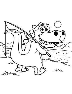 Malvorlagen Kinder Dino