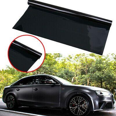 Uncut Window Tint Roll 1 Vlt 20 10 Feet Home Office Car Film Glass Black In 2020 Tinted Windows Window Tint Film Car