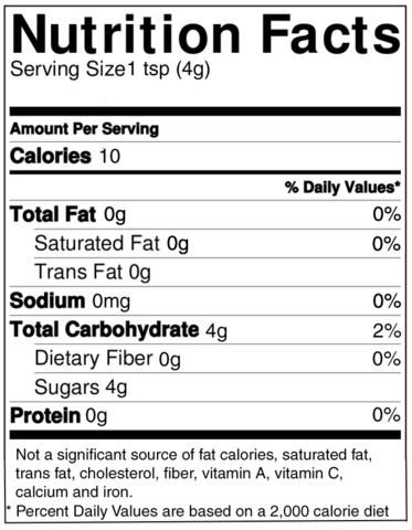 Nunaturals Sweet Health Erythritol Sweetener Ingredient Erythritol From Non Gmo Corn 114 Serving Nutrition Facts Keto Shopping List Lime Nutrition
