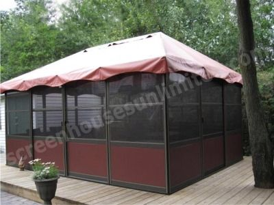 Jardin Square Style Screen Enclosures | Free Standing Screen Rooms | Deck  Enclosures | Screen Houses | Pinterest | Screen Enclosures, Gazebo And  Screens