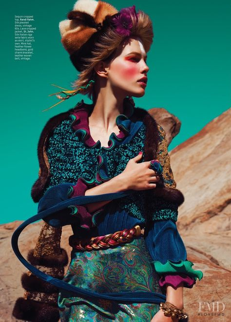 Lost In The Wind, photography by Alvin Nguyen for L'Officiel Indonesia