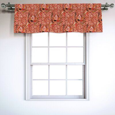 East Urban Home 54 Window Valance Valance Valance Curtains House Styles