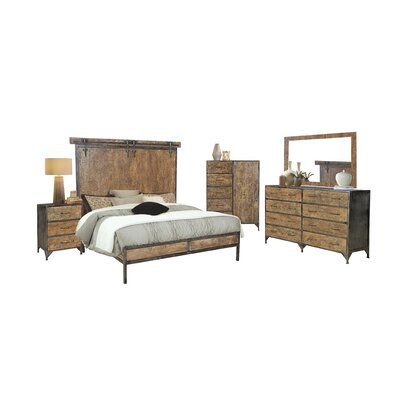 Williston Forge Beacon Standard 3 Piece Bedroom Set 5 Piece