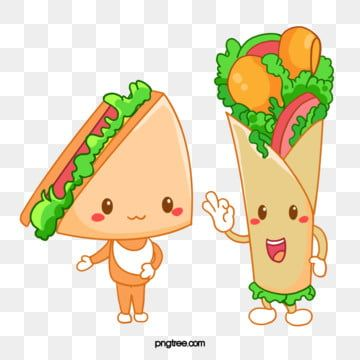 Sandwich Roll Animation Anthropomorphic Cartoon Animal Sandwich Comic Png Transparent Clipart Image And Psd File For Free Download Cartoon Clip Art Free Clip Art Cartoons Png
