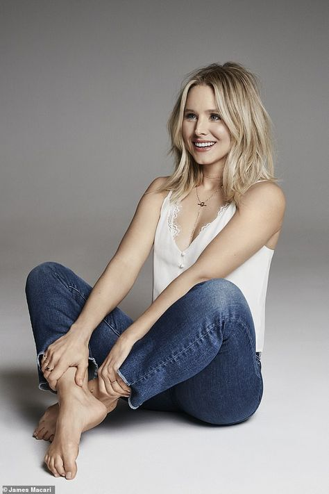 Kristen Bell on why every marriage needs a bit of jealousy - ash dirty blond hair with highlights - Kristen Bell, Kristin Bell Hair, Blonde Beauty, Hair Beauty, Top Beauty, French Beauty, Beauty Nails, Blonde Hair, Beautiful Celebrities