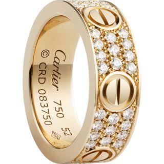 cartier ring value