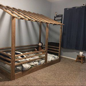 Lean To House Bed Frame Twin Size House Frame Bed Twin Bed