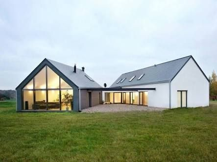 Image Result For L Shaped House Barn Style Barn Style House Farmhouse Style House Modern Barn House
