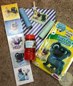 Puppy Dog Pals Birthday Party Puppy Birthday Parties Dog Birthday Party Boy Birthday Favors