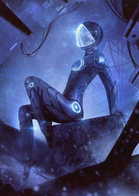 Sci Fi Girl by SYN.SCHOLAR by Syn-Scholar on deviantART