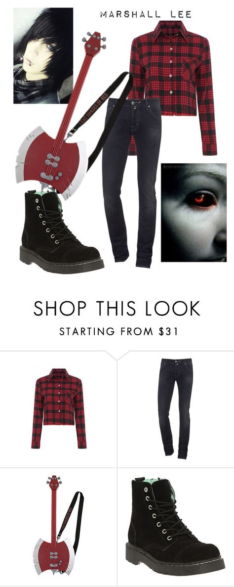 """Marshall Lee"" by im-just-me-so-yeah ❤ liked on Polyvore featuring Jacob Cohёn, T.U.K., men's fashion and menswear"