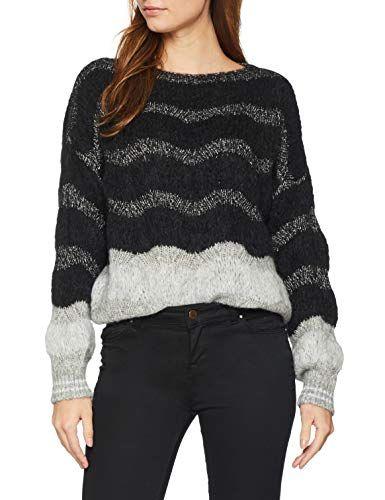 Sisley Sweater L//S Maglione Donna