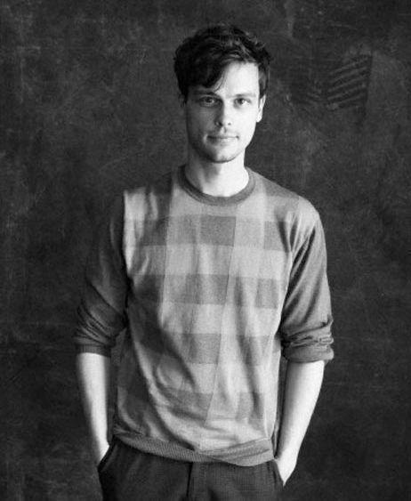 Matthew Gray Gubler               | Hollywood in B + W