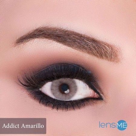 Anesthesia Addict Amarillo 2 Lenses Contact Lenses Colored Anesthesia Lenses