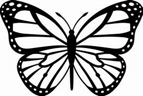 Image Result For Monarch Butterfly Template Printable Tatuagem