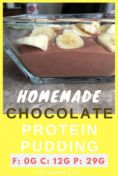 Fat Free & High Protein Pudding! Sooo good!