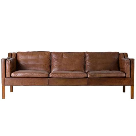 Borge Mogensen Model 2213 Three Seat Sofa 1 Sofa Design Sofa