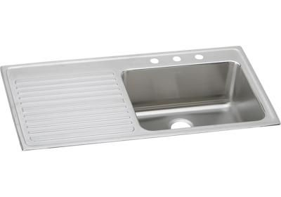 Lustertone Classic Stainless Steel 43 X 22 X 10 Single Bowl