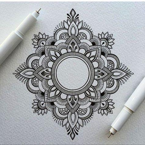 40 Beautiful Mandala Drawing Ideas  How To | Brighter Craft