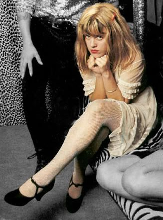 Kat Bjelland an original!....loving the shoes!