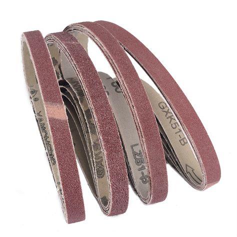 6pcs 2 X 72 Inch 120 Grit Zirconia Sanding Belts Metal Grinding Polishing Sander