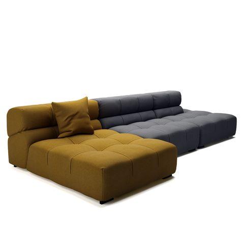 Free 3d model Tufty Time 15 Sofa by B\B Italia    dimensiva