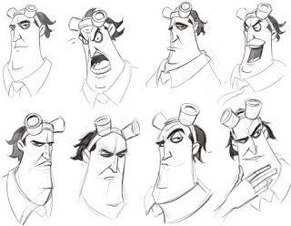Artblog Of Luis F Sanchez Character Design Facial Expressions Sheet Character Drawing Face Drawing Human Face Drawing