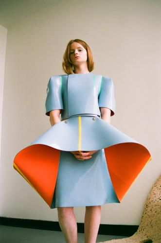 These Memphis Group-Inspired Designs Are Equal Parts Fashion and Sculpture 1