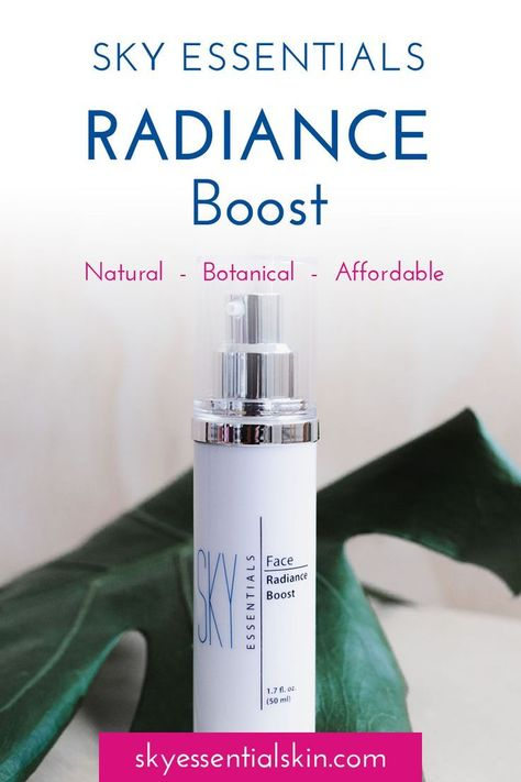 Our Radiance Boost is fortified with the Time Reversal Complex (TR-6 Complex) to deliver multi-targeted actions to correct visible signs of aging. These six unique age corrective technologies derived from Carob Seeds, Mung Bean Sprouts, Swiss Garden Cress