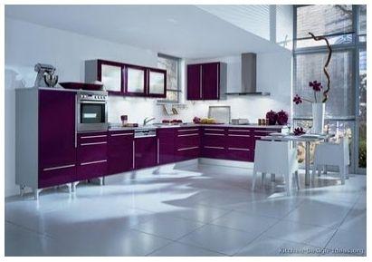 Colores Fluor Diseno Cocinas Modernas Cocinas De Lujo Y Muebles