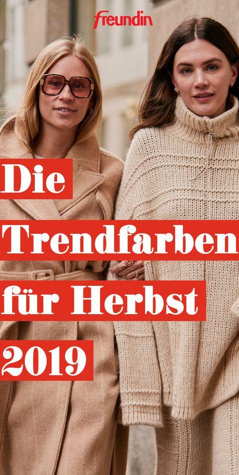 Gegen Ende des Jahres wird unsere Garderobe noch einmal von neuen Trendfarben geflutet. Die schönen Nuancen passen perfekt in den Herbst und lassen sich toll kombinieren