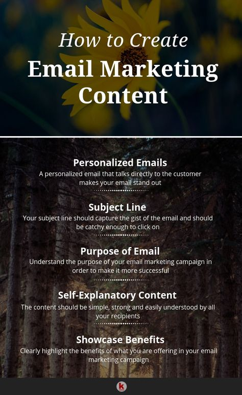 How to Create Email Marketing Content