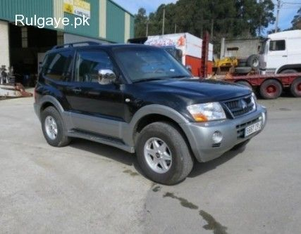 Ref 15 0640 1 For Sale Mitsubishi Montero Diesel 4x4 Year 2003 Luxury Edition Leather Seats Power Windows With Approved Hitch Au Mitsubishi 4x4 Diesel