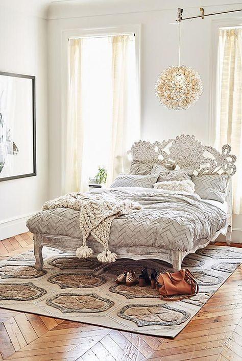 Slide View: 10: Handcarved Lotus Bed