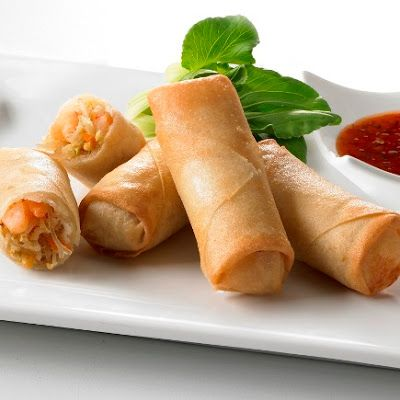Resepi Popiah Goreng Rangup Inti Sayur Campur Dan Telur Hancur Shrimp Spring Rolls Crispy Shrimp Spring Rolls