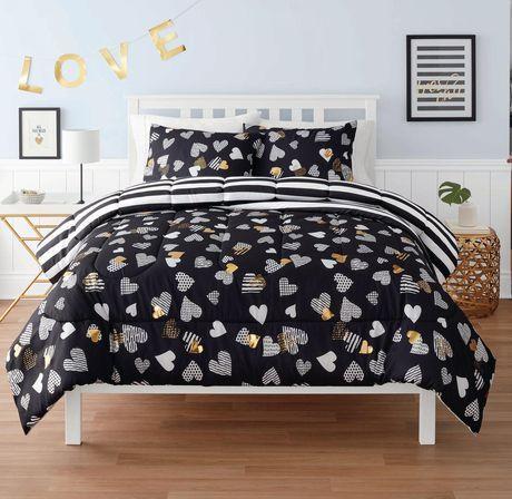 Mainstays Kids Comforter Set Heart Twin Kids Comforter Sets